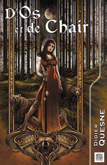 Nestiveqnen, Carolina Sans Cuende, portada llibre, fantasy art